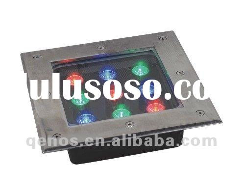 high power 9W Square Waterproof LED Underground Light