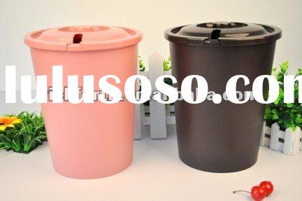 large size plastic trash cans for office and home use