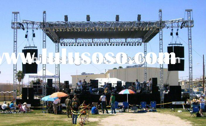 loudspeaker truss system line array speaker stand
