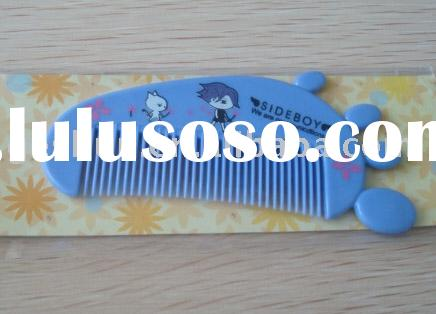 lovely comb, baby comb, promotion comb, plastic comb, baby comb, children comb, gift comb, mini comb