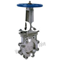 lug knife gate valve (steel kinfe valves, knife )