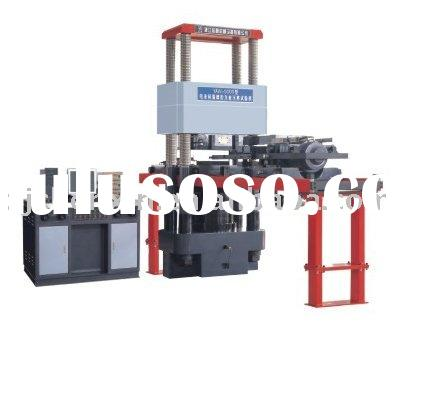 micro-computer control electro-hydraulic servo pressing & shearing tester (testing machine)