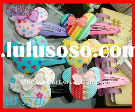 mikey hair clip/kids hair accessories(HJ-B5516)