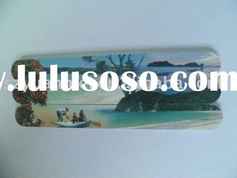 nail buffer made os pp board and sand paper , various designs are available