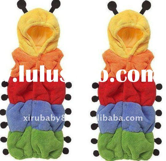 new fasion carpenterworm modeling baby sleeping bag kid sleeping bag child sleeping bag double layer