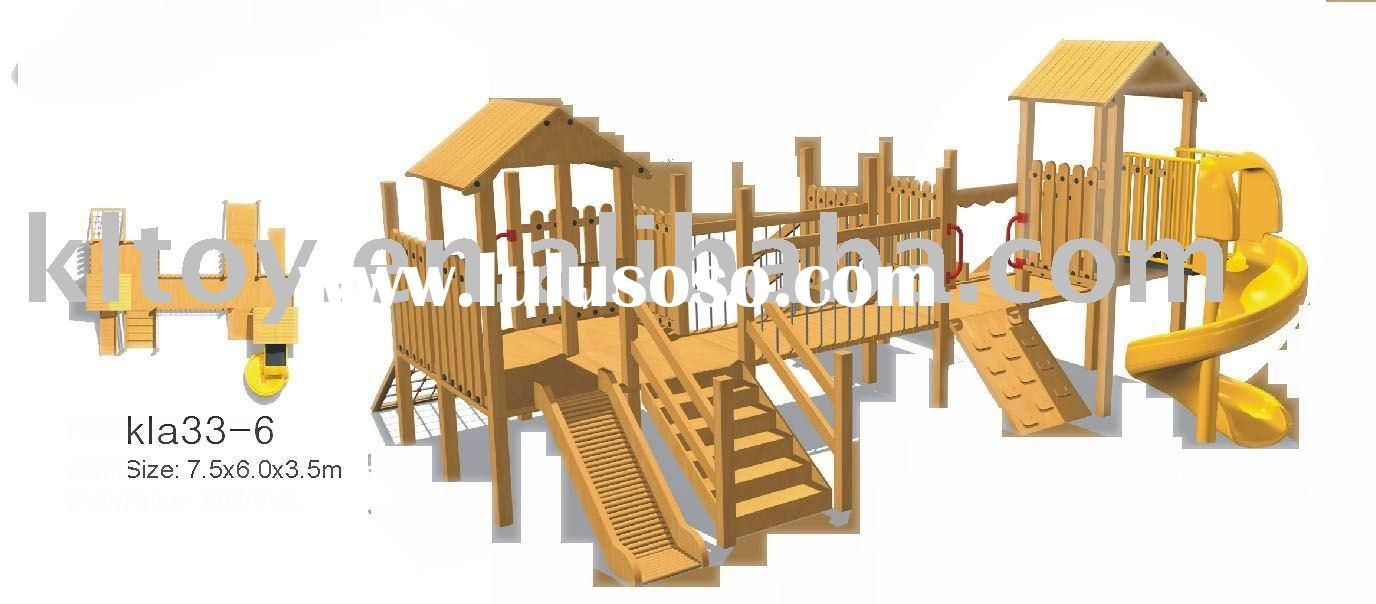 Wooden Playground Blueprints