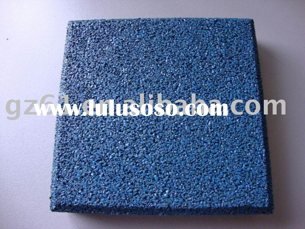 playground rubber flooring/safety play surface/playground safety flooring/outdoor playground surface