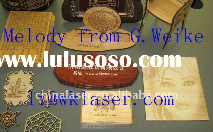plywood laser cutter / laser cutting machine/ wood laser carving machine