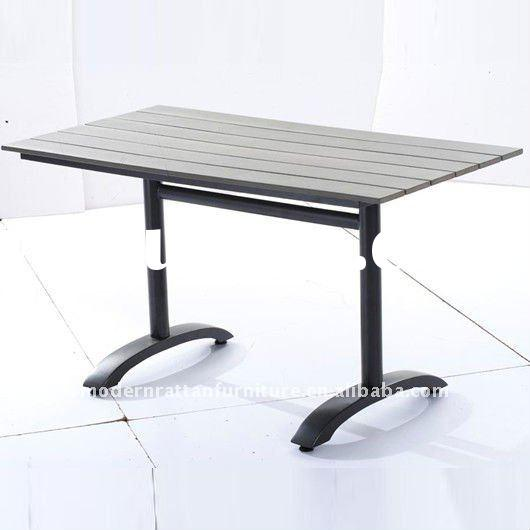 polywood outdoor dining table - WPC patio / garden dining table