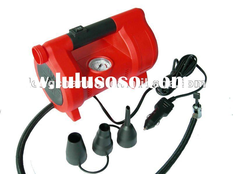 portable mini car air compressor with pump