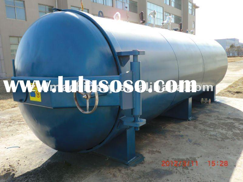 pressure vessels vulcanizer for rubber roller - A