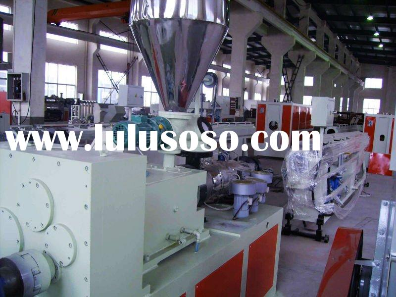 pvc electrical sheath tube machinery