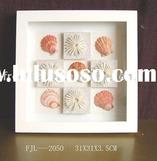 shadow boxes with shells