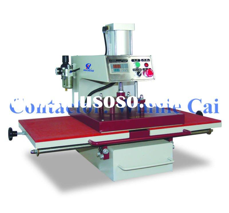 shaking head heat transfer printing machine for tshirt