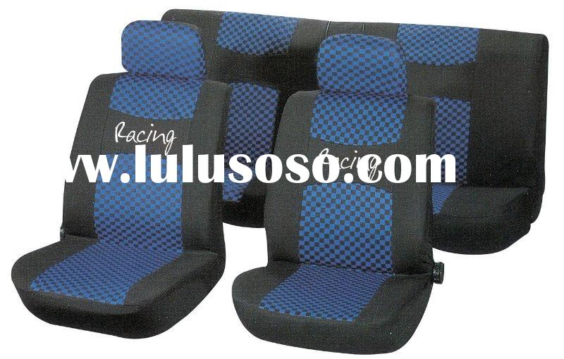 sports design car seat cover made of polyester