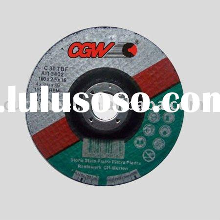 super thin steel wire depressing cymbals cutting wheel/abrasive tool
