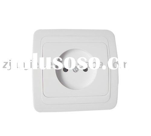wall socket (plain socket)european socket without earth outlet