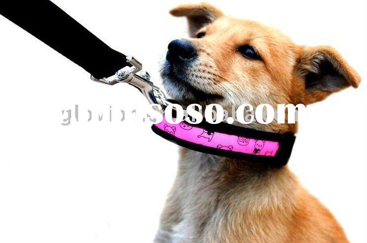 2011 hot sell glow pet collars led fashion pet collars led pets dog collar