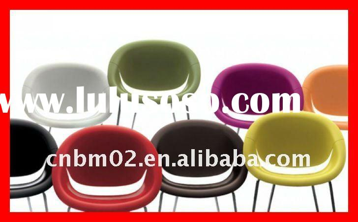 2011 new Modern plastic stackable salon waiting room chairs