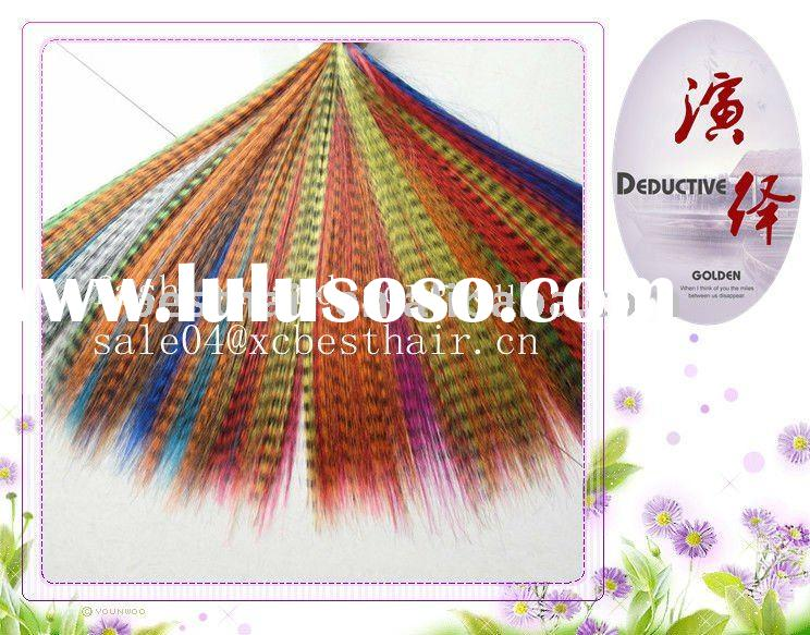 2011 new arrival synthetic Feather Hair Extension