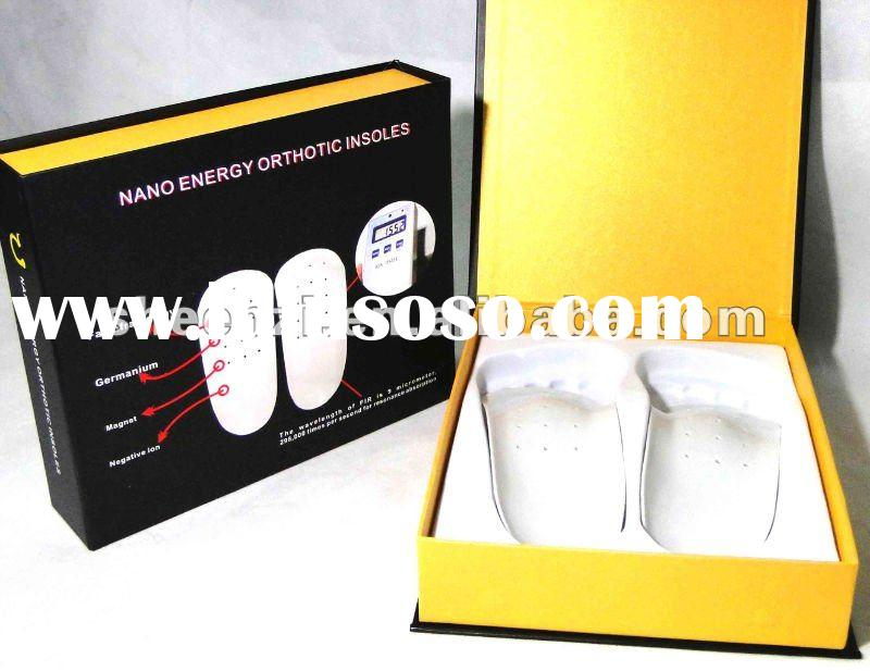 2012Promote Metabolism Nano energy Insoles/Energy Orthotic insoles/Energy foot insoles