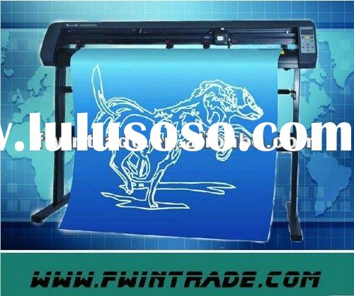 2012 cheap!!! easily operate high efficiency Vinyl Cutting Plotter with 1 year warranty and coreldra