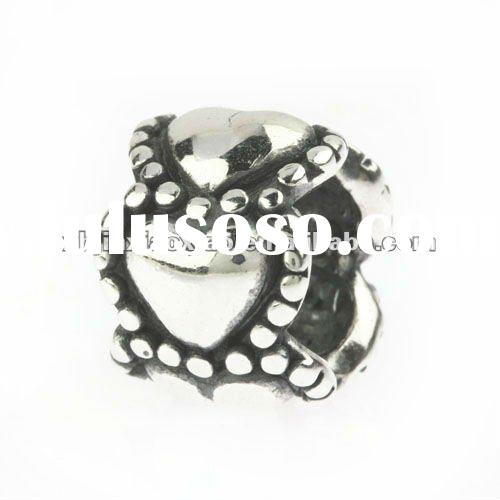 2012 fashion 925 Sterling Silver bead and bracelet used pandora bead charm