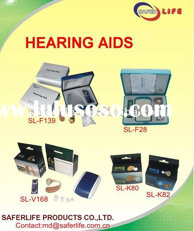 2012 hot sale Proffessional hearing aid price with battery audiogram Programmable open fit digital _