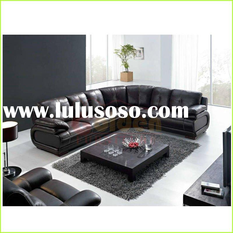 2012 modern european black leather sofa ikea sofa