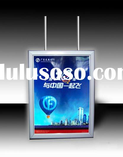 2012 new style led light box and screen printing light box