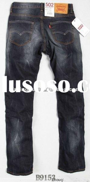 2012man's fashion jeans sale hot beautiful trousers with good style fashion spring jeans bra