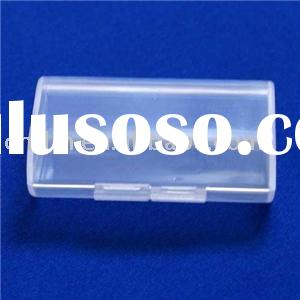 2 AAA Batteries Battery Holder Storage Plastic Case