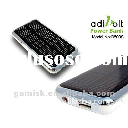 3500mAh Solar li-ion battery charger 3.7v for digital products