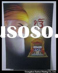3d god picture for hindu gods, 3d lenticular printing