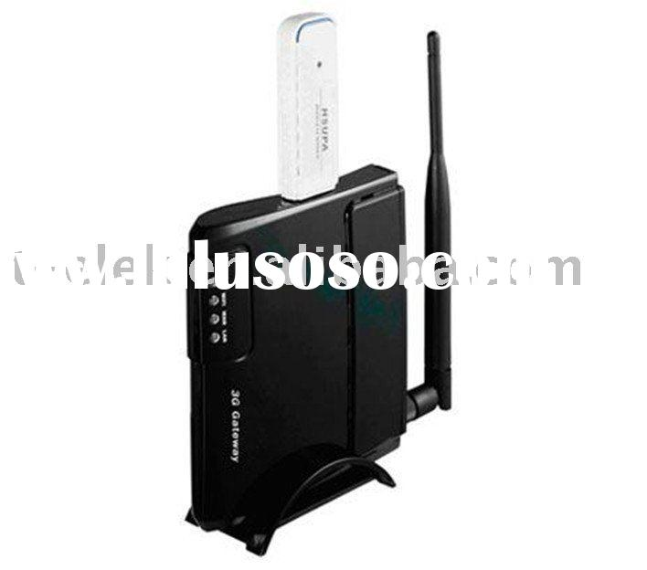 3g router wireless router with USB modem Slot