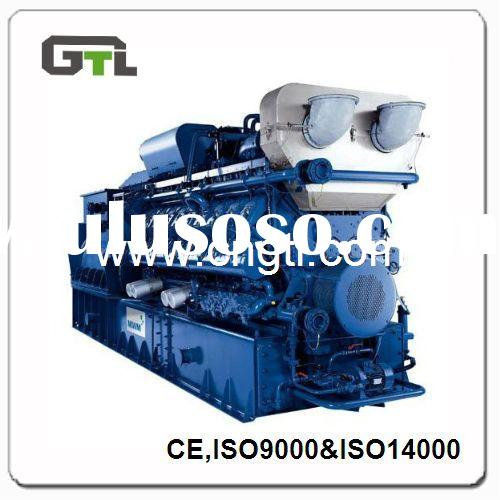 8~1250KVA GTL Natural gas generator with CE and ISO