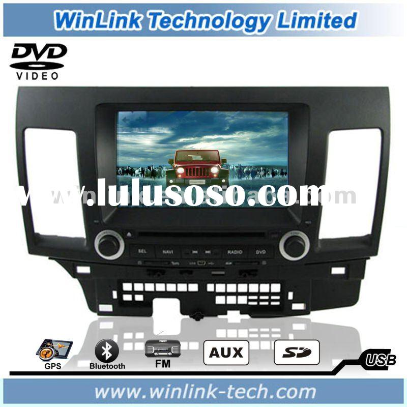 8 Inch DVD Player for Mitsubishi Lancer with GPS and Bluetooth