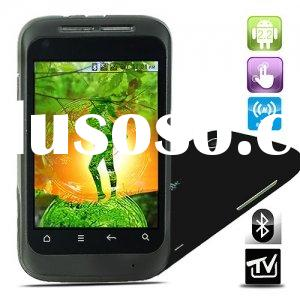 "A510 Quad Band Dual SIM Dual Standby 3.2"" Touch Screen Android 2.2 OS WIFI TV Bluetooth Mobile"