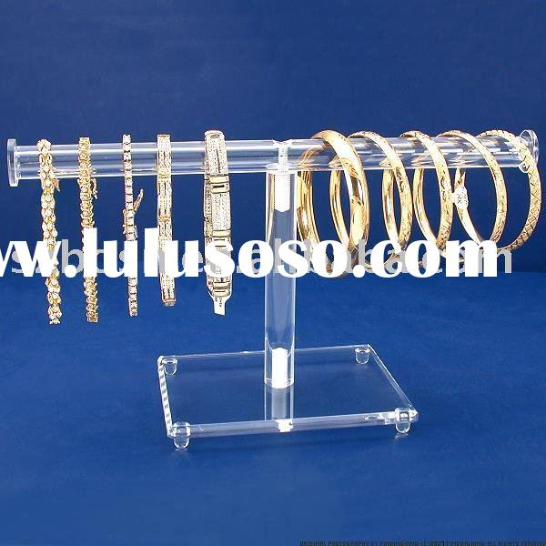 Acrylic Necklace Display,Perspex Bracelet Holder,Lucite Chain Display