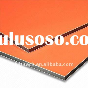 Alubond,aluminum composite panel wall cladding building material