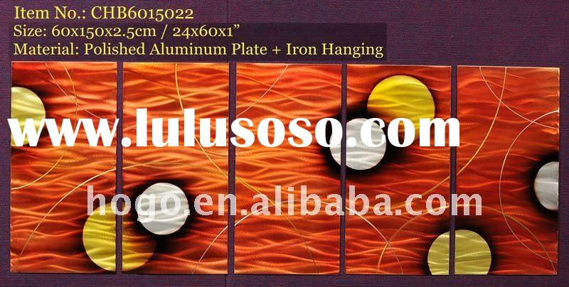 Antique 3d Abstract Metal Wall Paintings Craft Art