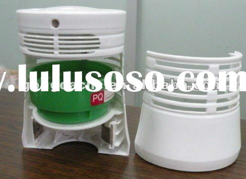 Automatic aerosol dispenser with air freshener