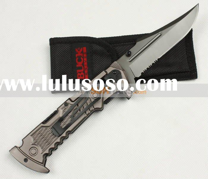 BUCK 998 Folding Knife Hunting knife knives Pocket Knife Outdoor Knife wholdesale /retail
