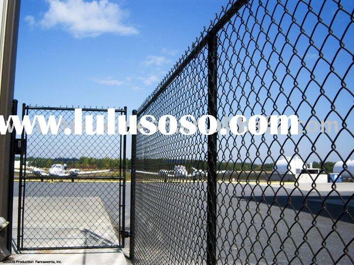 Black Chain link fence Gate (Made-In-China)