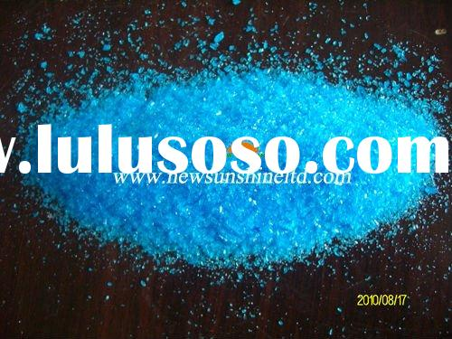 Blue crystal powder Copper sulphate