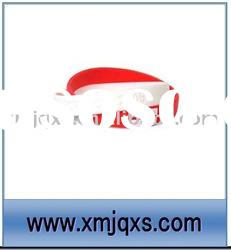 Cheap factory sale silicone rubber bracelet with custom logo