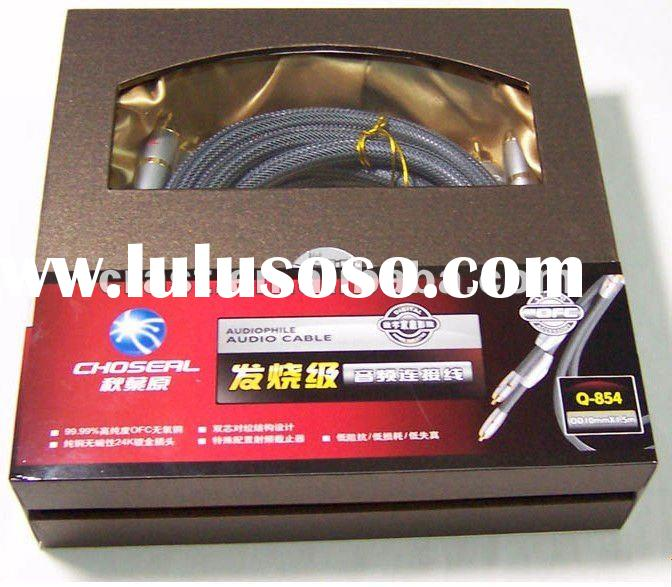 Choseal Q854 Component Video cable hifi S-video digital coaxial cables