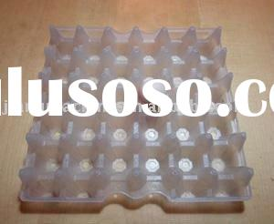 Clear plastic PVC recyclable egg tray for 30