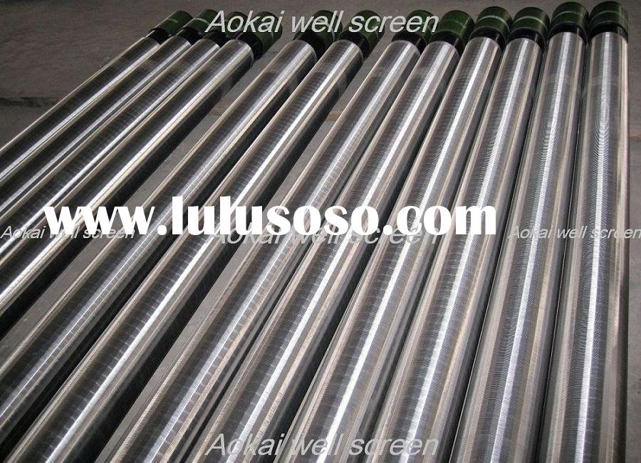 Pvc well casing and screen pipes