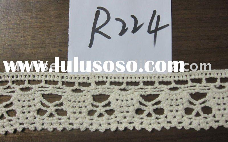Crocheted Lace,Edging Lace,Trim lace